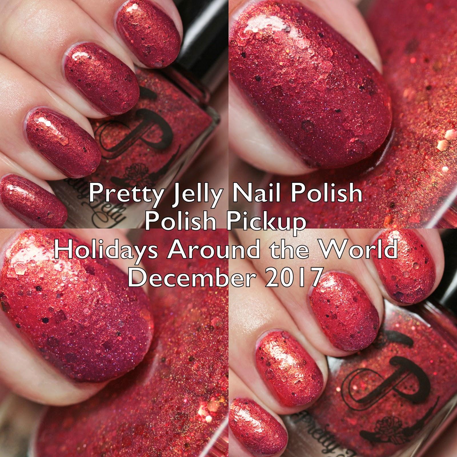 The Polished Hippy: Pretty Jelly Nail Polish Polish Pickup
