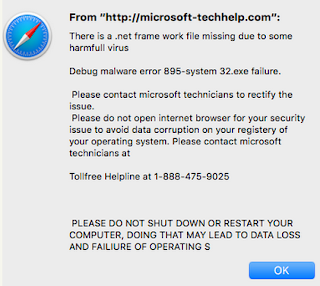 PC Virus Cleaner: Remove Microsoft-techhelp com Pop-up Scam