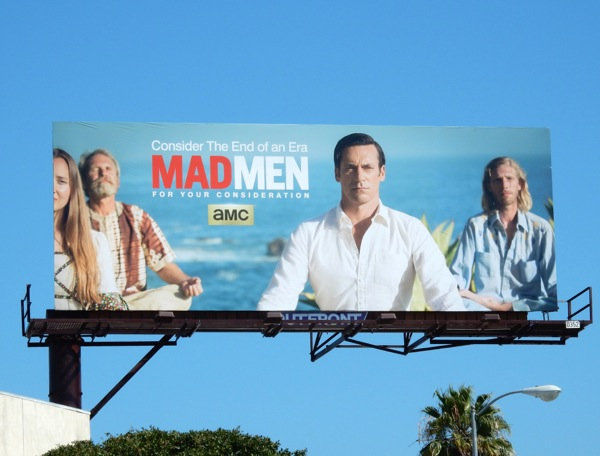 Mad Men 2015 Emmy billboard