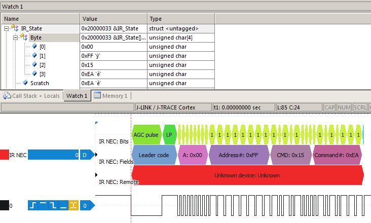 Hardware by design: Audio sw - NEC IR Remote Protocol