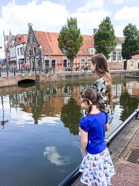 Gracht Sneek, Friesland (Niederlande)