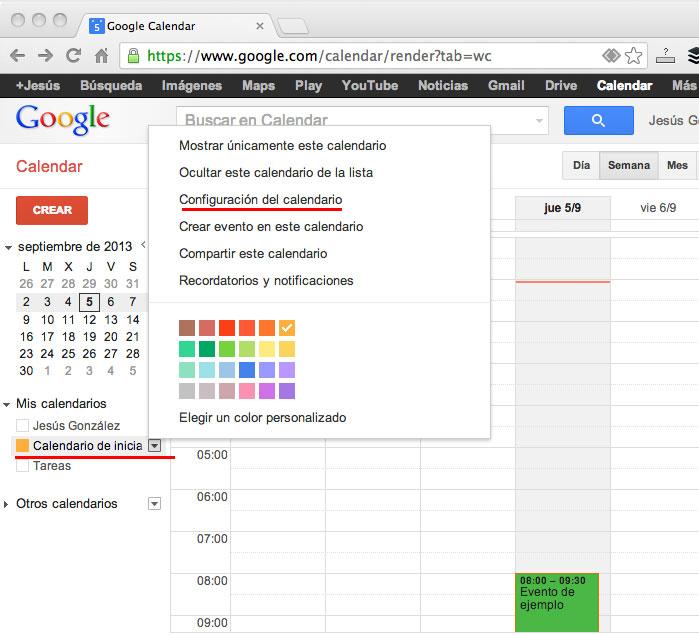 Html Calendario.Blogger Y Google Calendar Iniciablog Te Ayuda Con