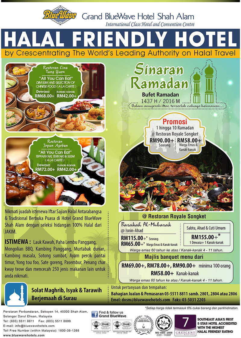 grand bluewave buffet ramadhan