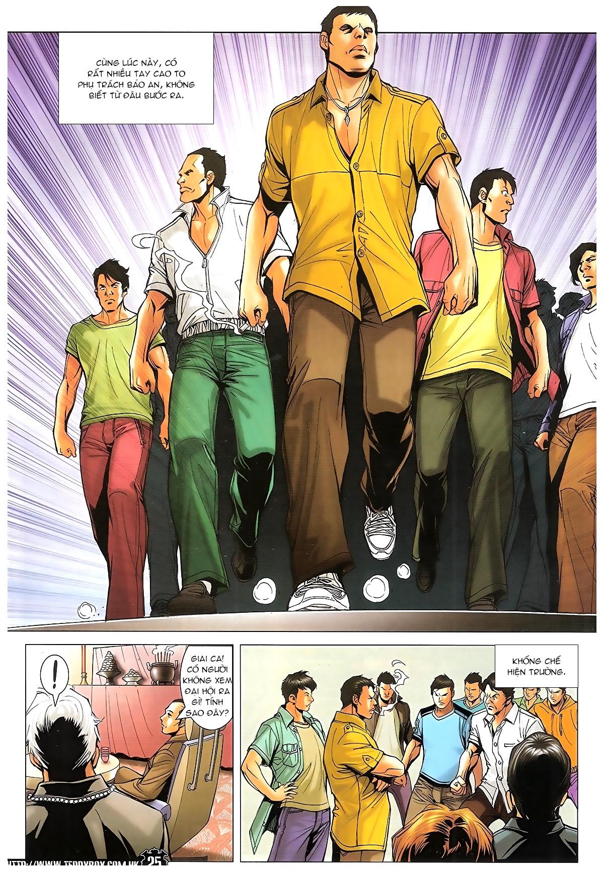 Người Trong Giang Hồ - Ngũ Hổ qui thiên - Chapter 1718: Đàm phán siêu cấp 4 - Pic 21