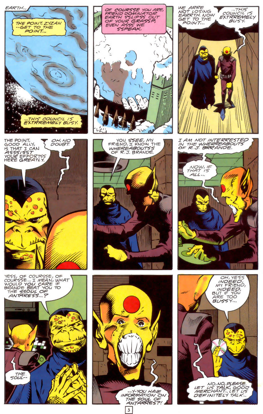 Legion of Super-Heroes (1989) 33 Page 3