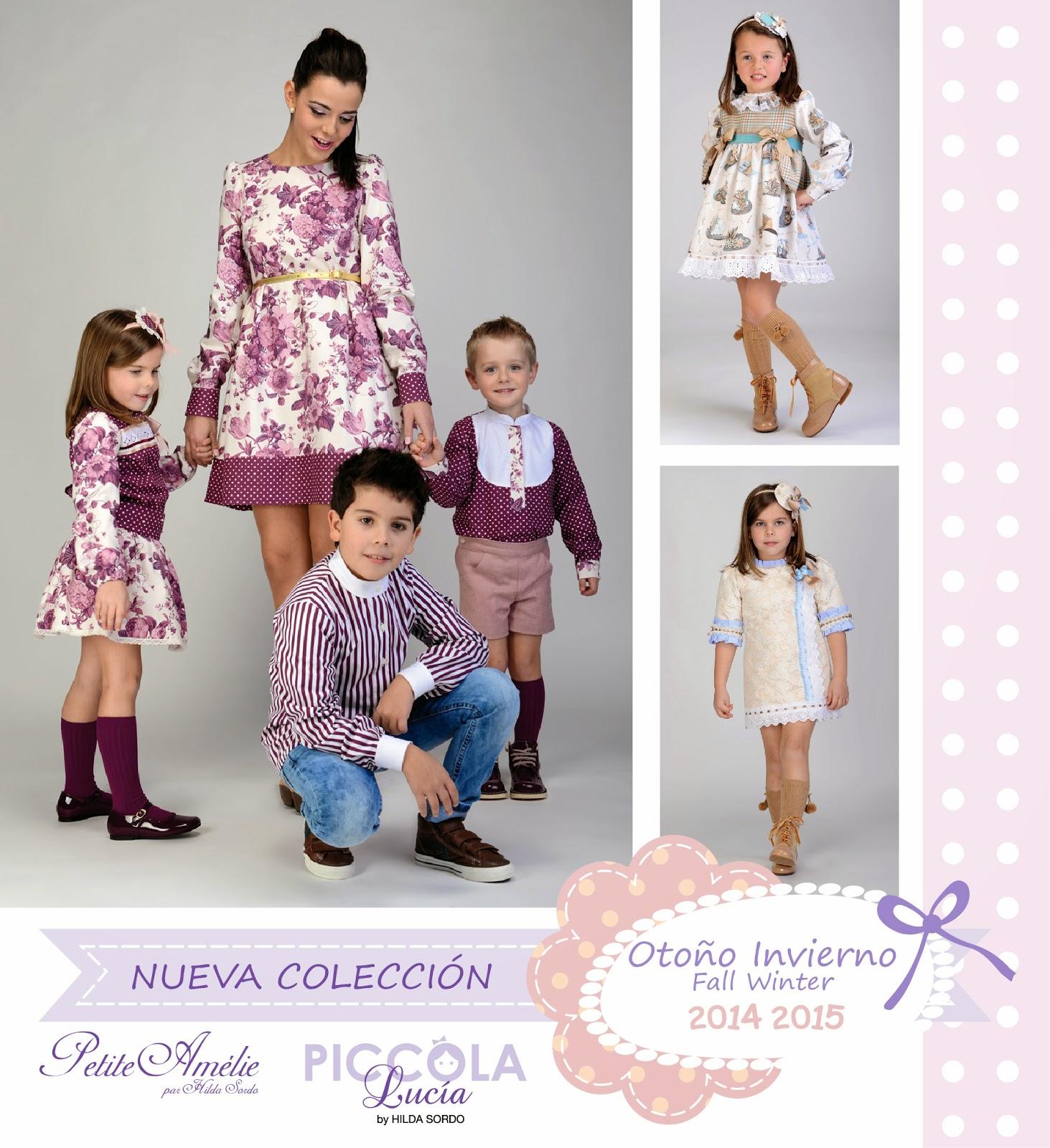 9741a573a Nueva Colección Otoño Invierno 2014-2015. Ya está disponible la nueva  colección de Petite Amélie y Piccola Lucía.