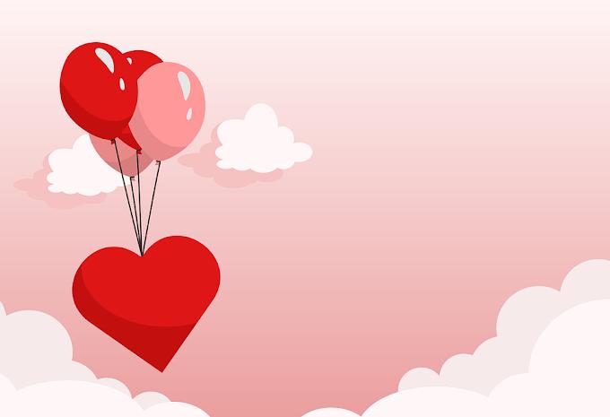 Love Heart Romance Valentines Day free vector