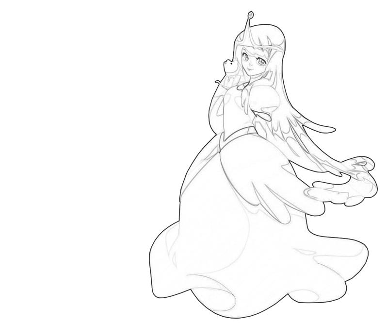 princess bubblegum coloring pages - photo#21