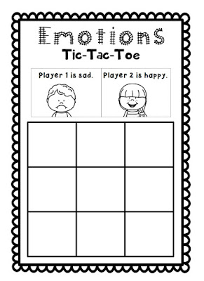 tic tac toe template for teachers - roller english