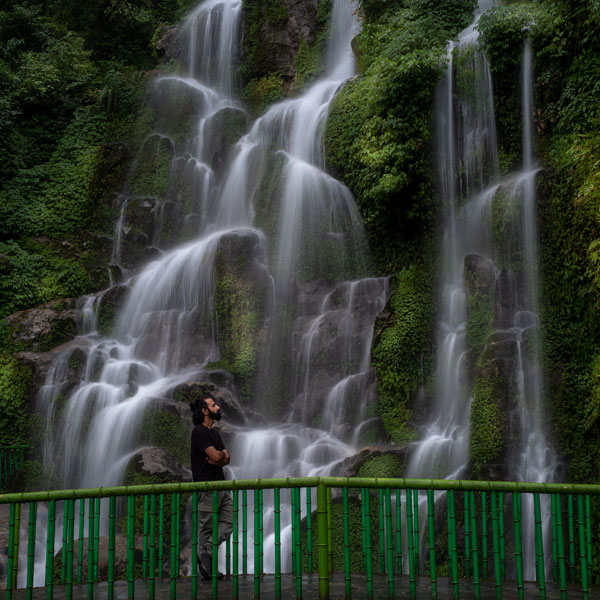 bakthankg falls sikkim travel blog photo
