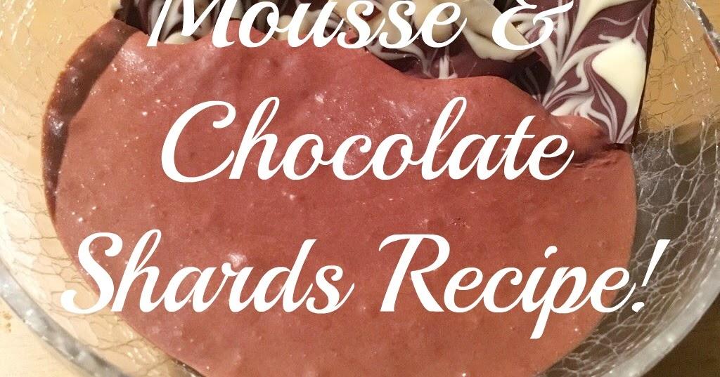 how to make chocolate shards recipe