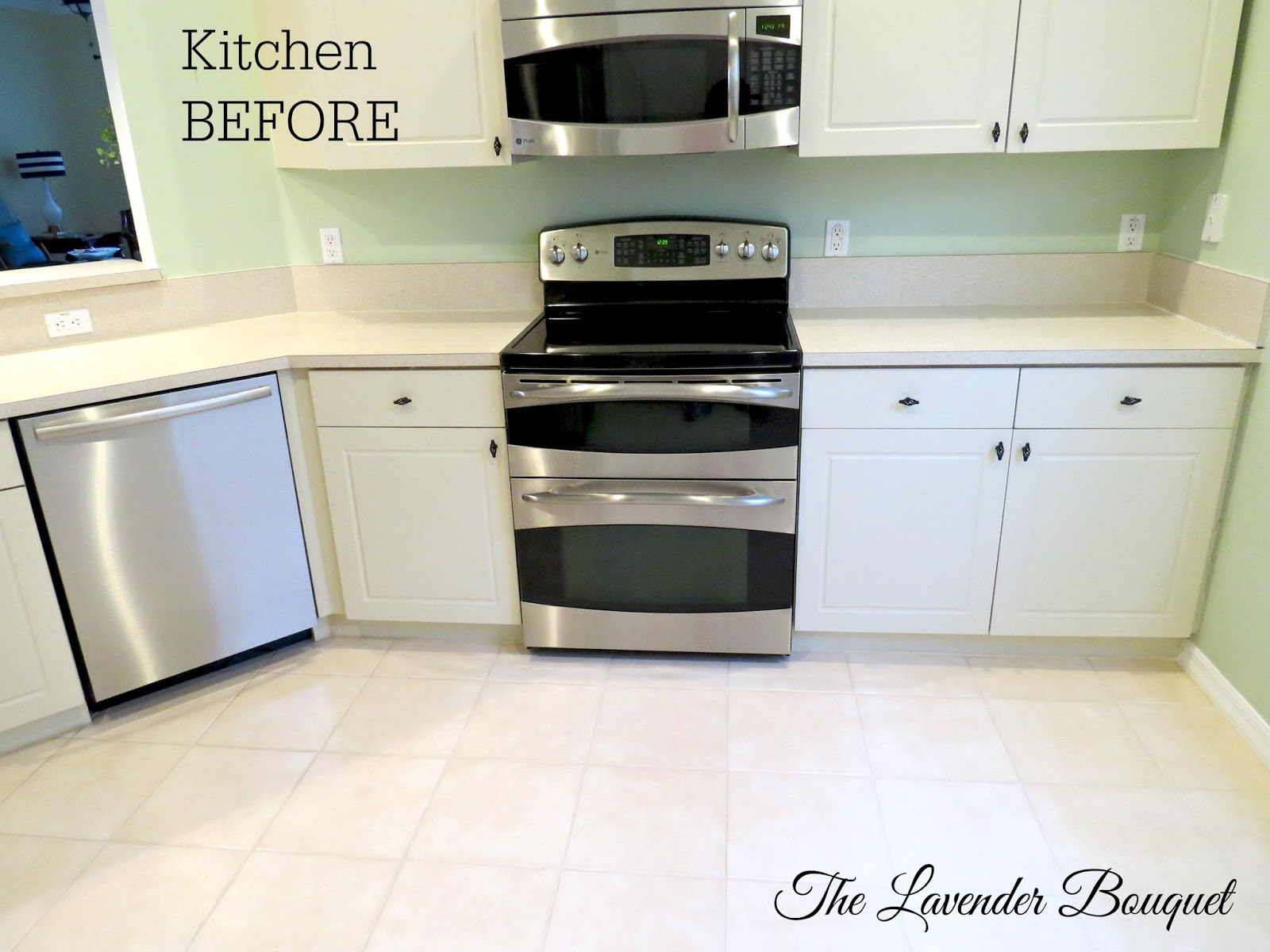 Thermofoil Kitchen Cabinets Home Depot The Lavender Bouquet Tlb 39s Kitchen Reveal