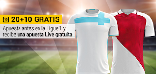 bwin apuesta 20 y gratis live 10 euros O.Marsella vs Mónaco 15 enero