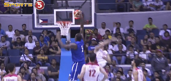 Andray Blatche's NASTY Slam vs Iran (VIDEO)