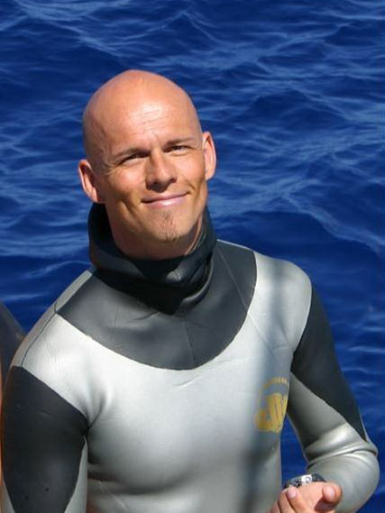 Herbert Nitsch, World Record Holder Freediver