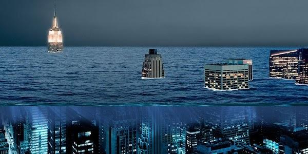 Nueva York podria quedar bajo el agua en futuro proximo...Alcalde