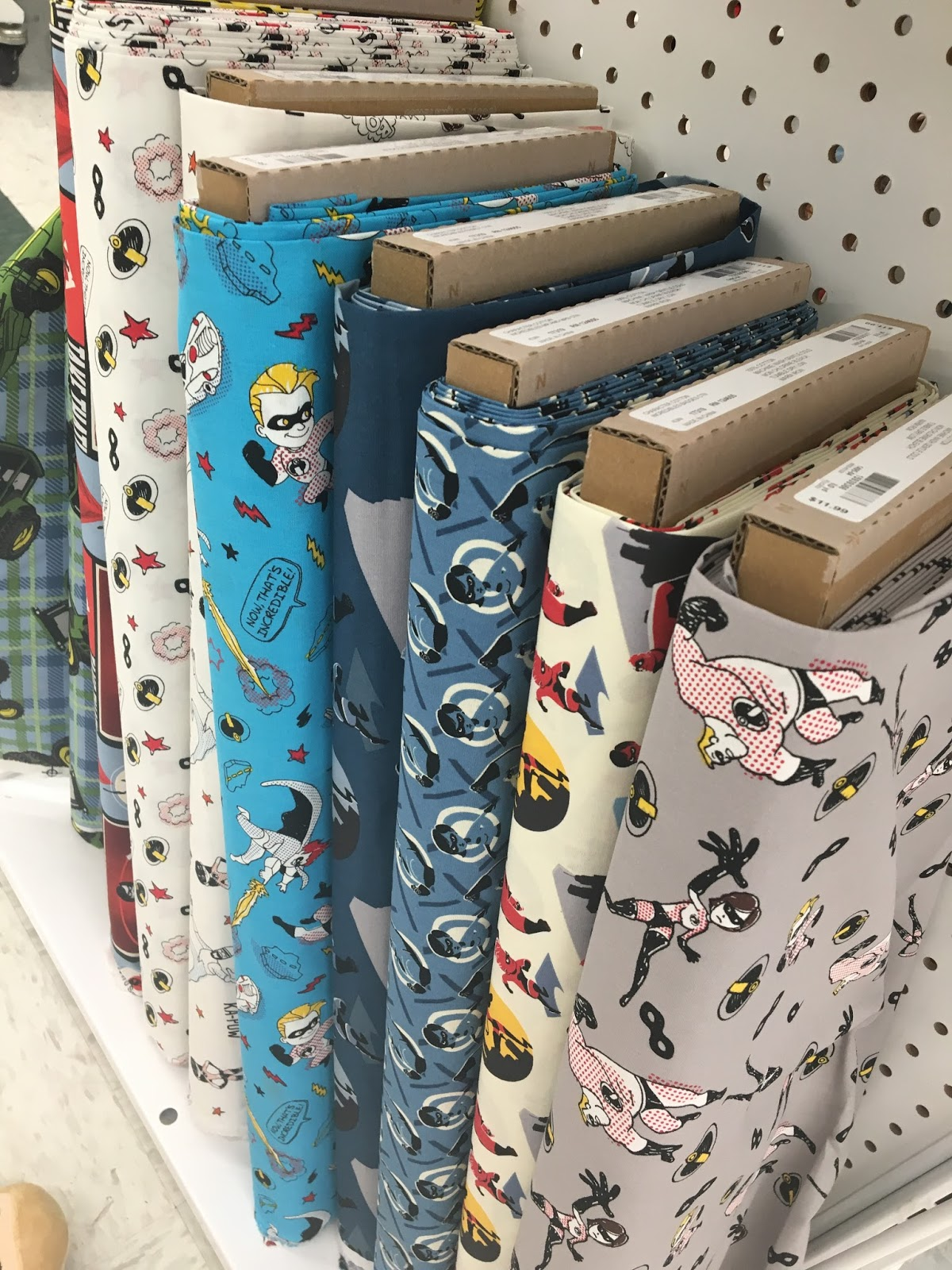 disney pixar incredibles 2 fabric