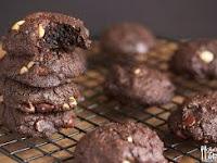 Cara Membuat dan Bahan - Bahan Choco Nutty Cookies Resep Lengkap dan Mudah