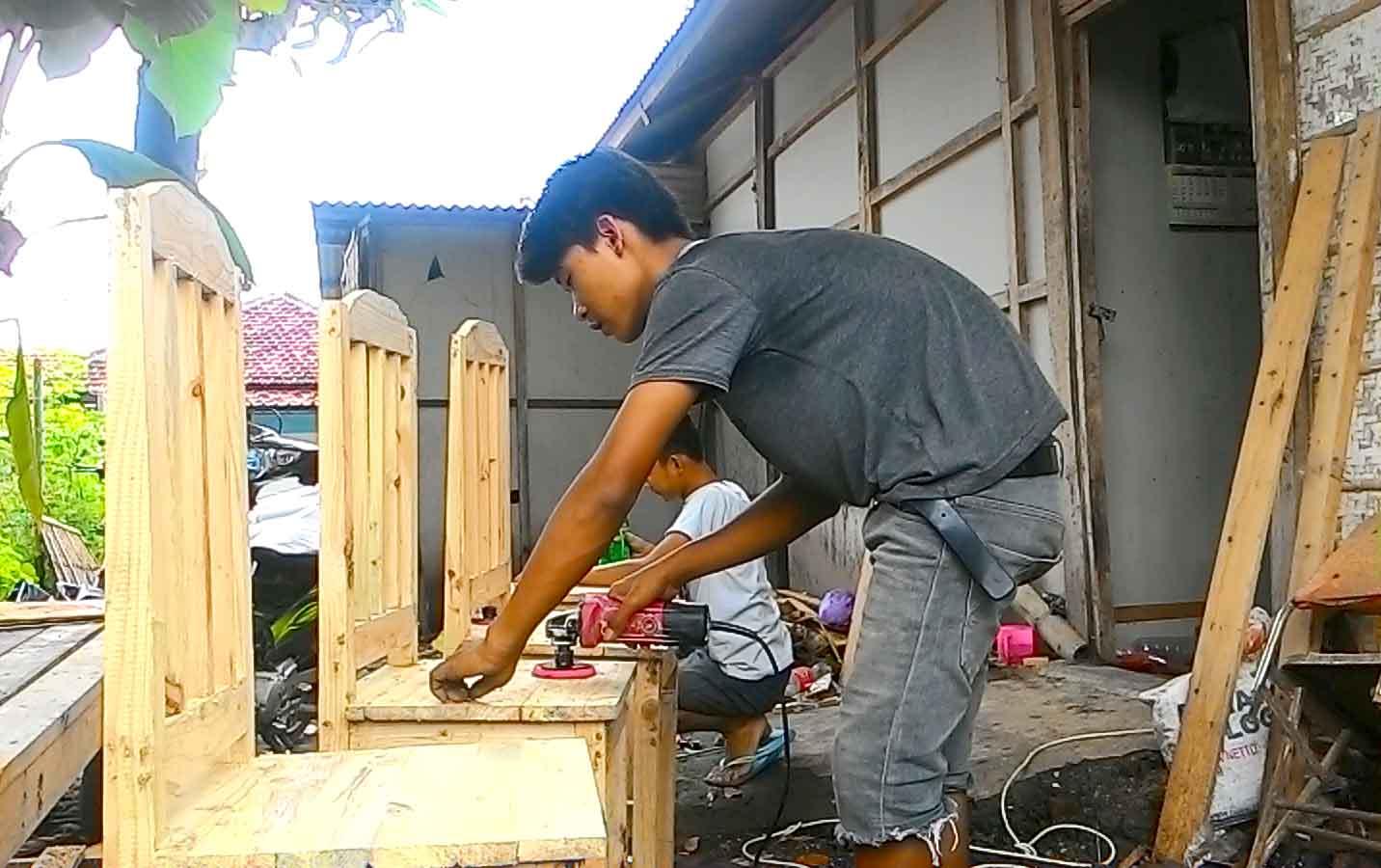 1 Set Meja Makan Kayu Jati Belanda Di Desa Jepang Ini Hanya Dijual Kursi Harga Dari