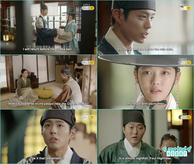ra on reached to meet her mother and heared something about se shopuldn't be in the palace with the crown Prince  - Love In The Moonlight - Episode 12 Review