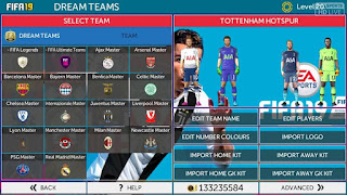 Download FTS 19 Mod FIFA Apk + Data OBB (First Touch Soccer 2019) Full Transfer