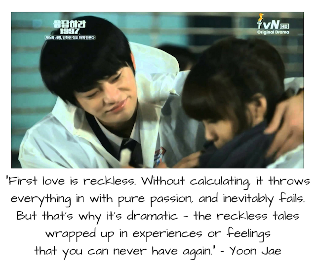The 29 Most Beautiful 'Reply 1997' Korean Drama Quotes