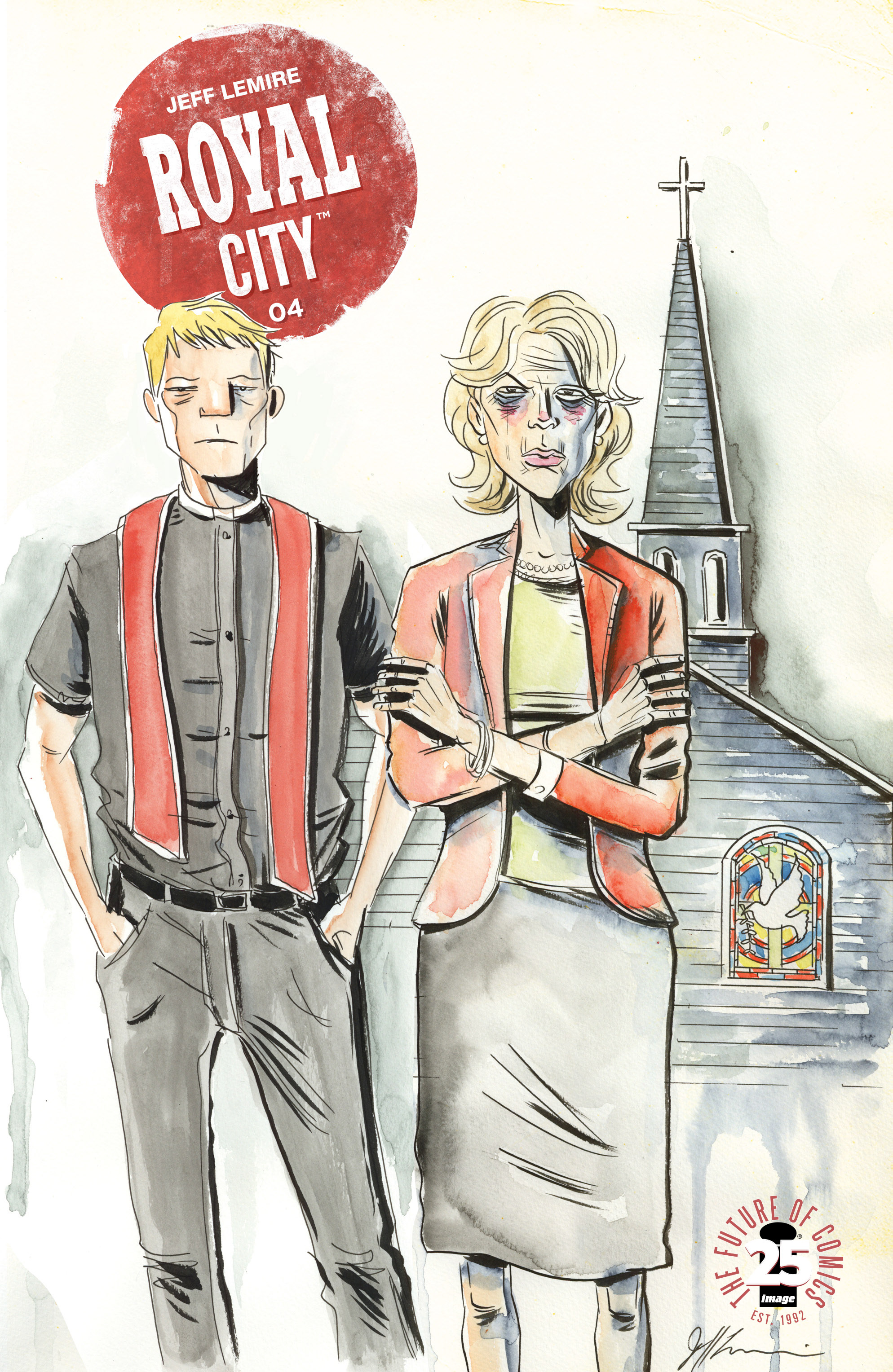 Read online Royal City comic -  Issue #4 - 1