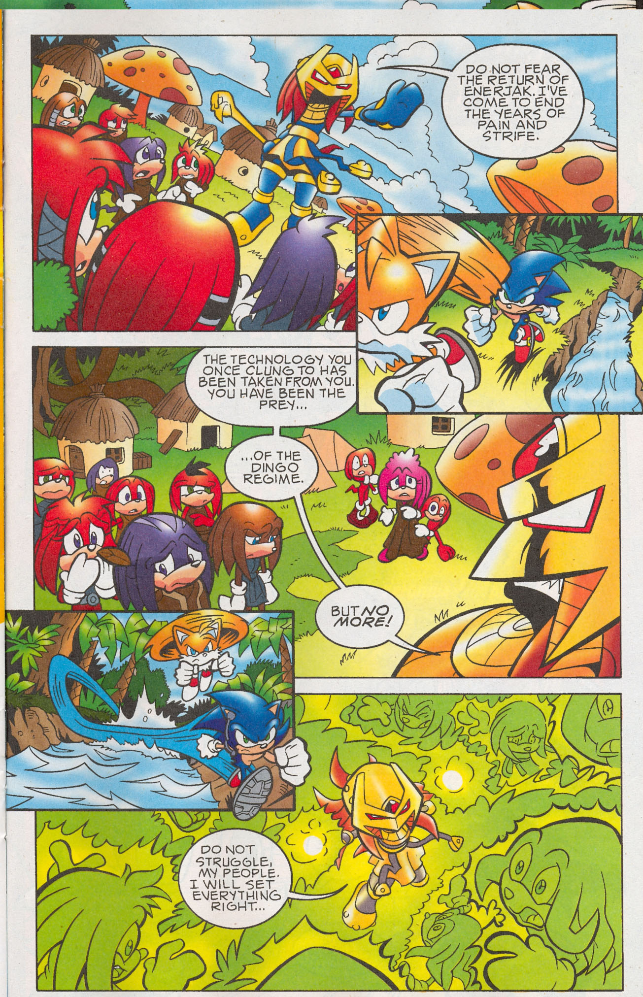 Read online Sonic The Hedgehog comic -  Issue #181 - 12
