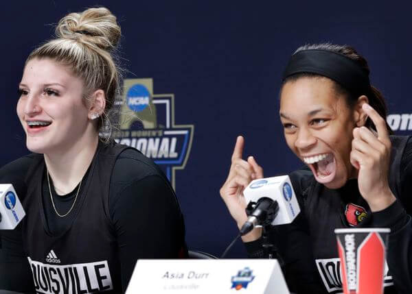 Women's NCAA basketball stars ready to tip off Sweet 16 in Albany