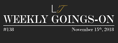 Weekly Goings-On #138 - Blackpool Hotels Newsletter - Blackpool Shows and Events November 16 to November 22