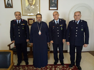 Στο Μητροπολίτη Μεσσηνίας ο Περιφ. Aστυνομ. Δ/ντής Πελοποννήσου