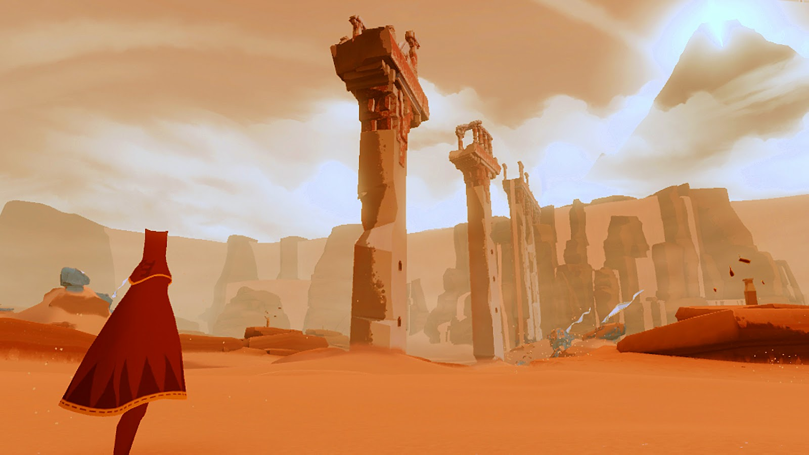The Journey ScreenSaver ScreenShot Landscape Towers Torres