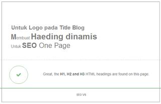 Cara-MMembuat Dynamic Heading Pada title blog yang menggunakan logo