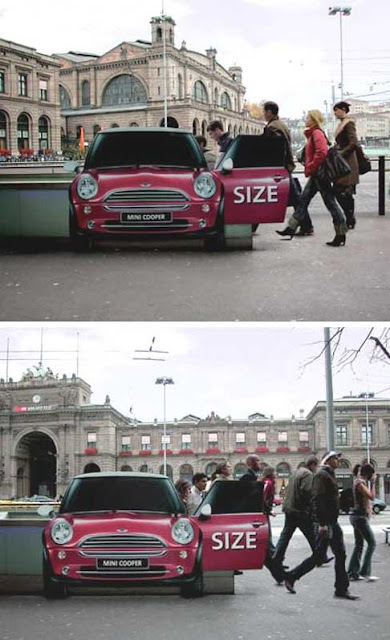 Clever and Creative MINI Cooper Advertisements (20) 15