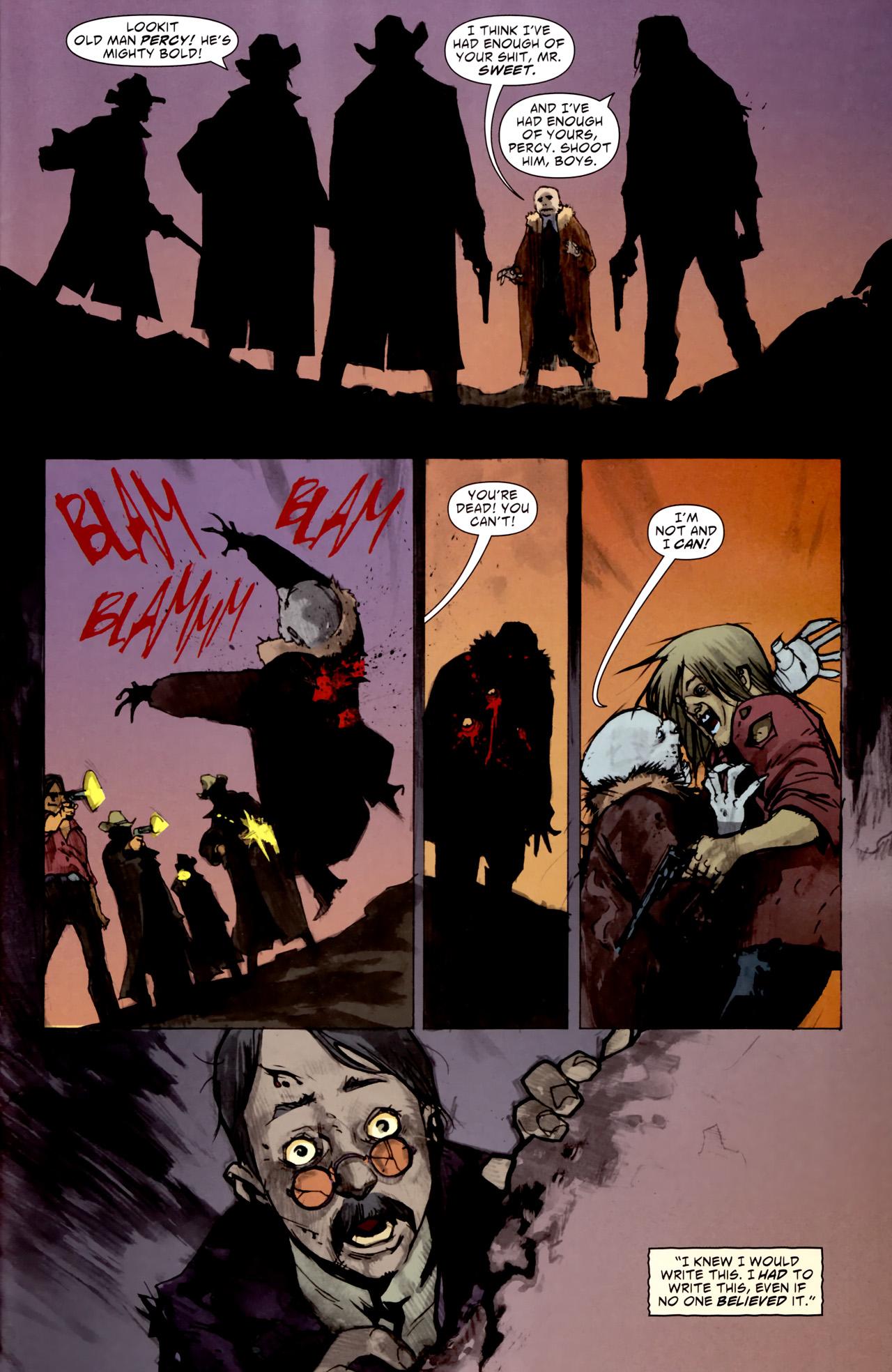 Read online American Vampire comic -  Issue #1 - 31