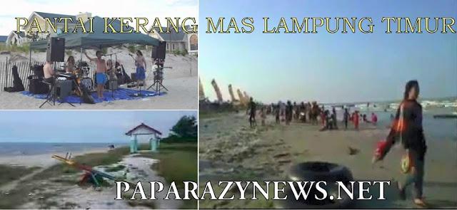 Pantai Kerang Mas,Mungkinkah Kelak Akan Jadi Kebanggaan Desa Muara Gading Mas  Lampung Timur