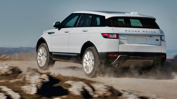 2018  Range Rover Evoque Rear View