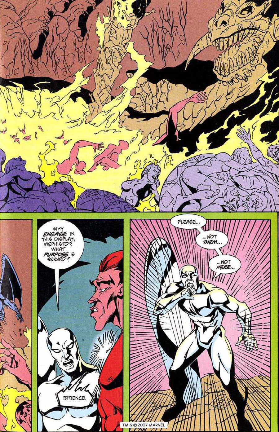 Read online Silver Surfer (1987) comic -  Issue #100 - 25