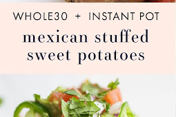 Whole30 Instant Pot Mexican Stuffed Sweet Potatoes (Paleo)