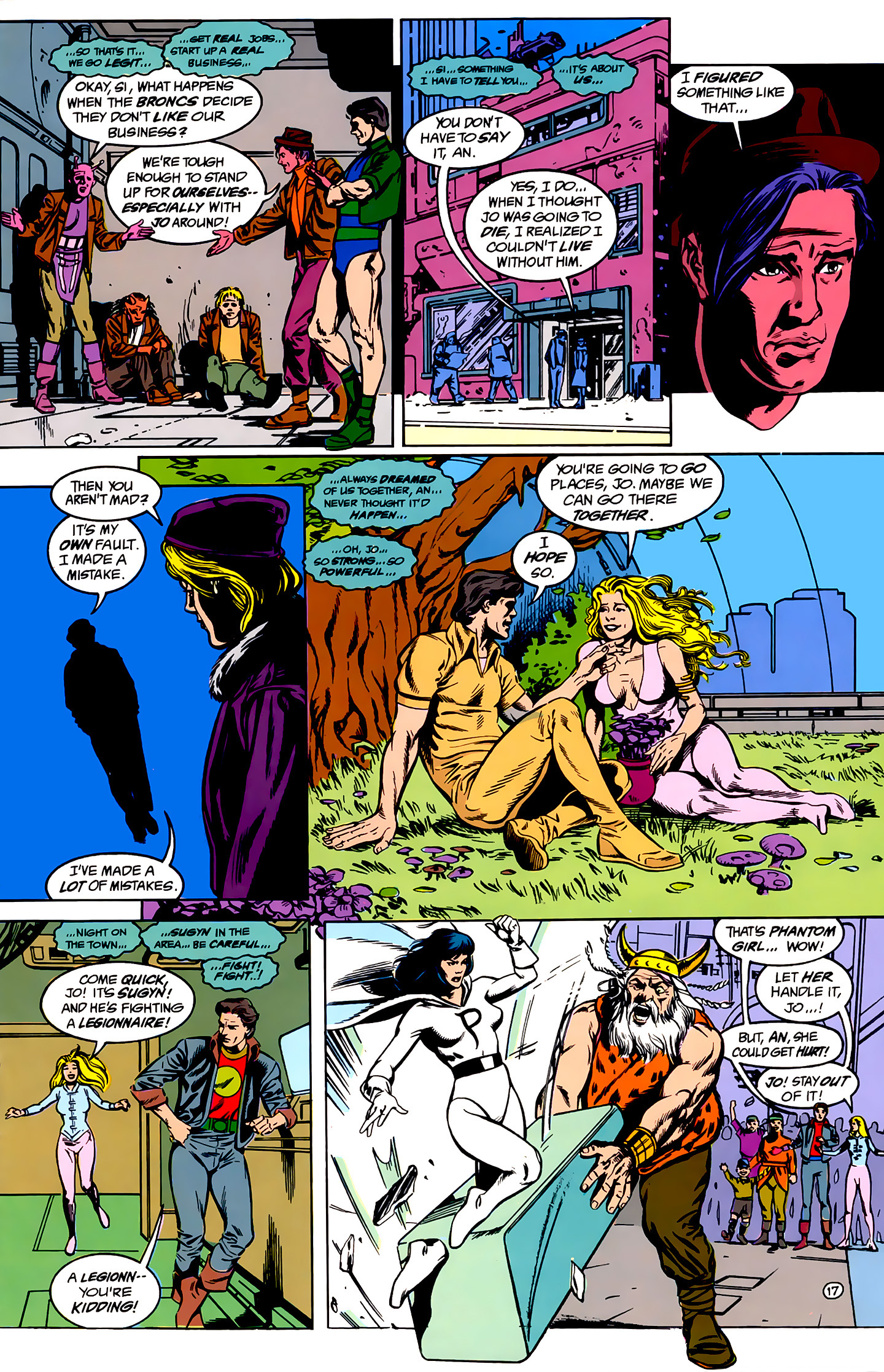 Legion of Super-Heroes (1989) _Annual_1 Page 17