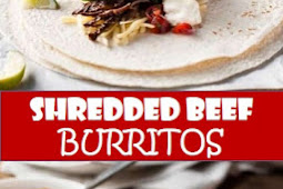 #recipe #food #drink #delicious #family #Shredded #Beef #Burritos
