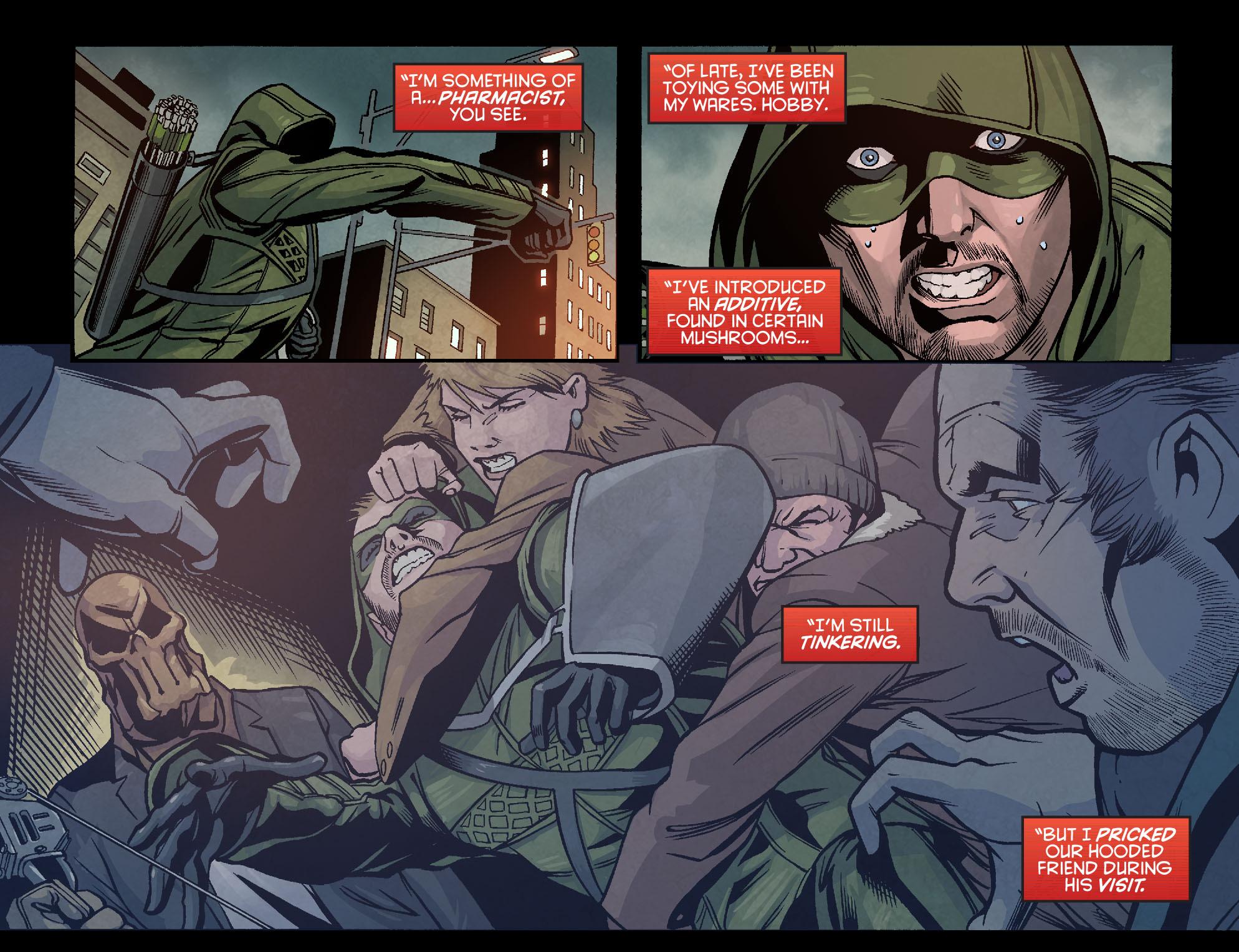 Read online Arrow: Season 2.5 [I] comic -  Issue #7 - 19