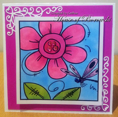 Diecut Divas, Bugaboo mini spring flower blocks