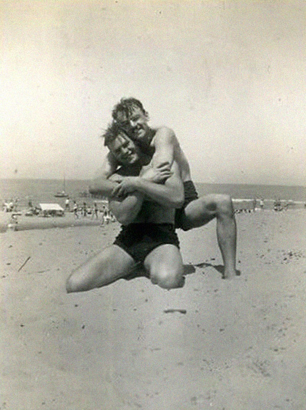 Former Priest Made A Collection Of Pictures That Prove Gay People Did Exist In The Past