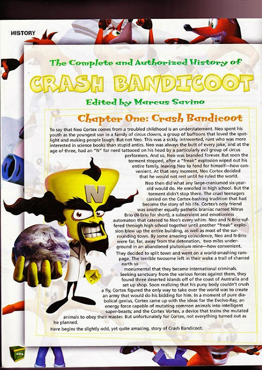 The Wrath of Cortex Official Guide