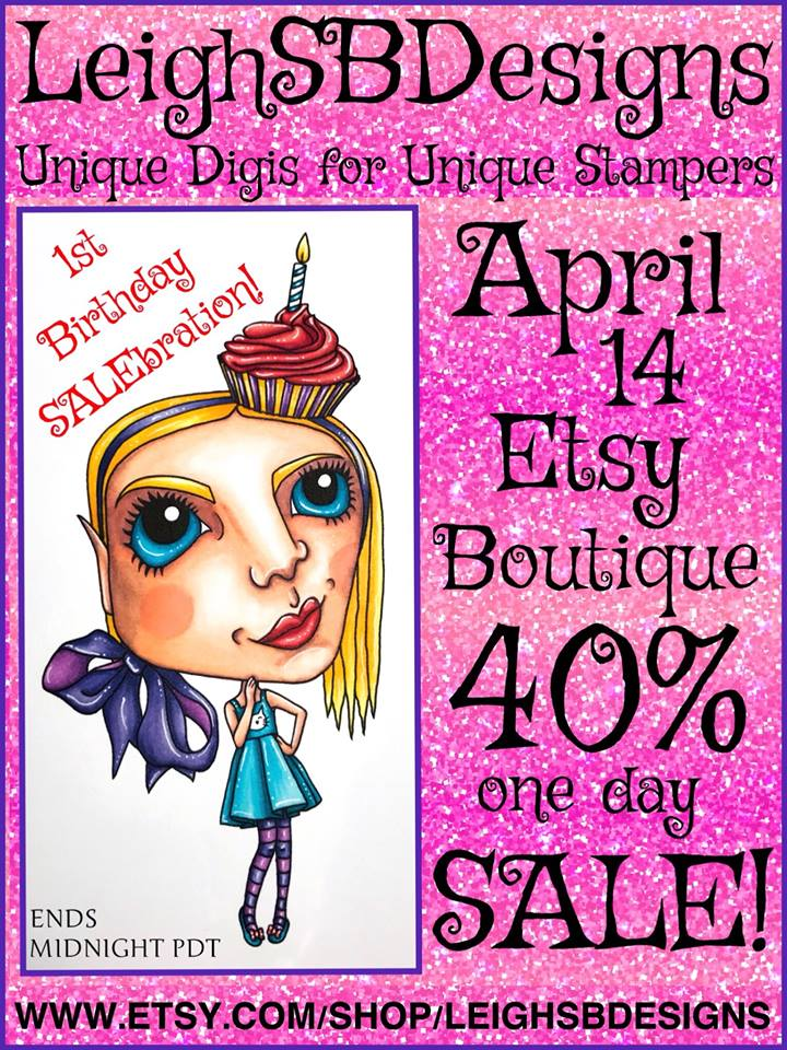 LeighSBDesigns 1st Birthday