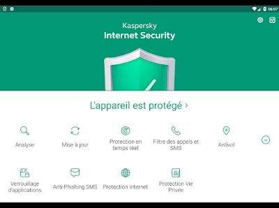 تحميل برنامج الحماية كاسبيرسكي إنترنيت سيكوريتي 2018
