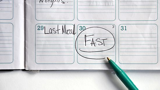 how to fast to lose weight fasting with water