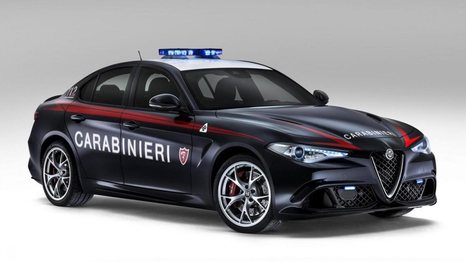 Italian Alfa Giulia QV