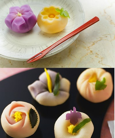 all about women's things beautiful of wagashi